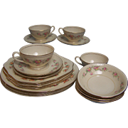 Homer Laughlin Dinnerware Eggshell Georgian 20 pc