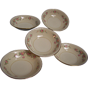 Homer Laughlin Dessert Bowl Eggshell Georgian