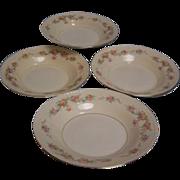 Homer Laughlin Eggshell Georgian Soup Bowl set of 4
