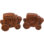 Salt Pepper Stagecoach Shakers