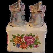 Salt Pepper Elephant Shakers