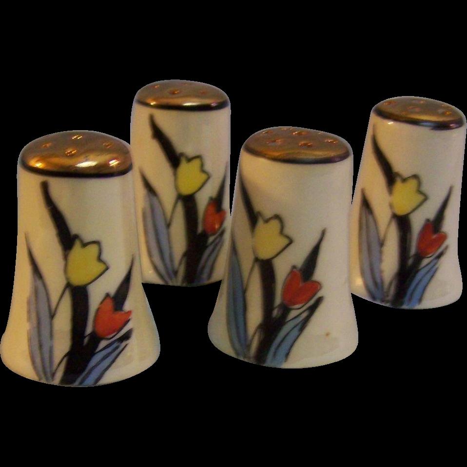 Tulip Shakers Individual set of 4 Japan