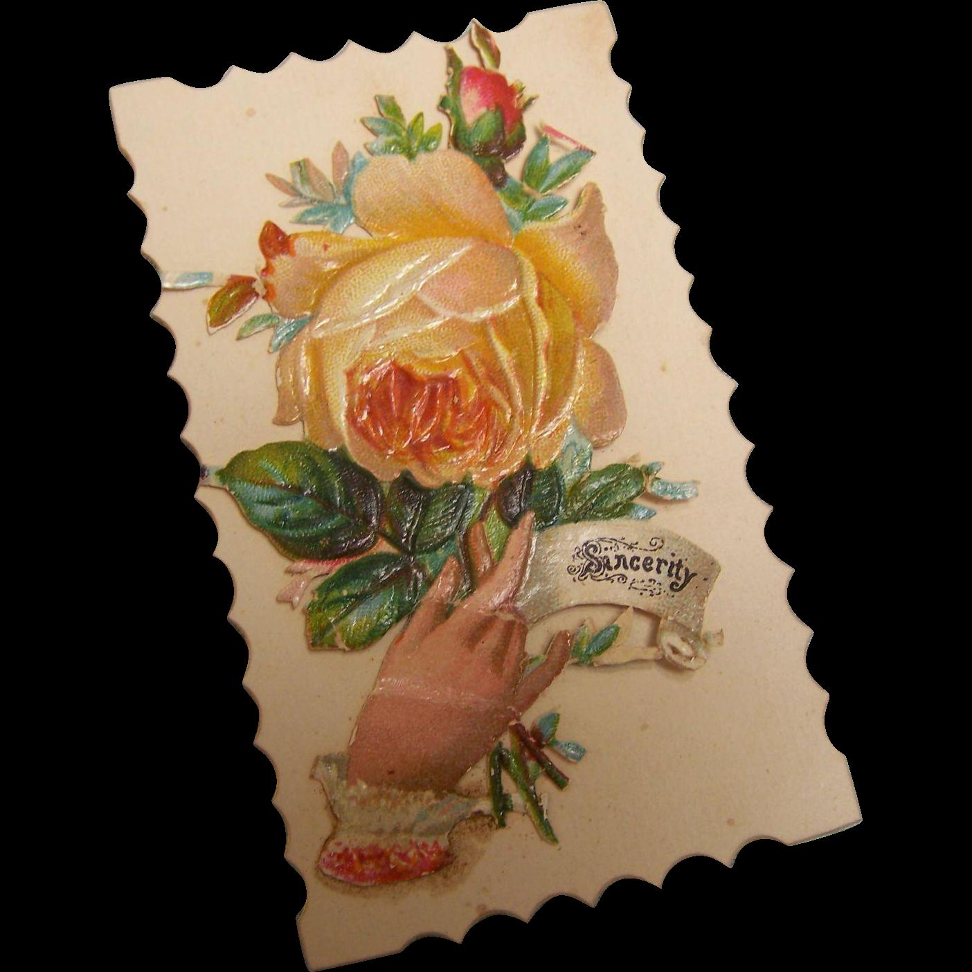 Victorian Calling Card Salesman Sample Unused