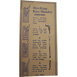 Stocking Run Mender Hook
