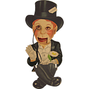 Charlie McCarthy Paper Cardboard Puppet
