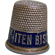 Iten Biscuit Advertising Thimble