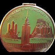 1934 Chicago World Fair Compact