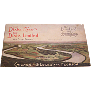 Dixie Flyer and Dixie Limited Train Schedule  Souvenir Booklet