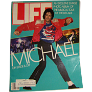 Life Magazine September 1984 Michael Jackson Tour of Decade