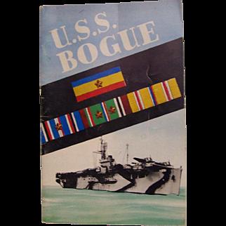 U.S.S. Bogue Cruise Book World War 2