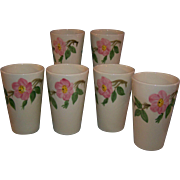Franciscan Desert Rose Tumblers Set of 6