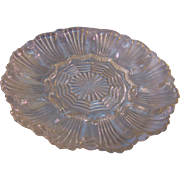 Glass Egg Plate Anchor Hocking