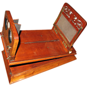 Late 19th Century Rowsells Patent Stereoscopic Viewer