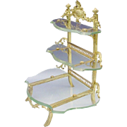 "Glorious Antique French Perfume Vanity ""PERFECT for YOUR LITTLE TREASURES"""
