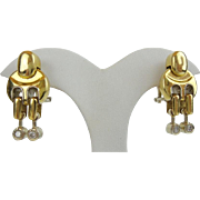 "Baraka 18KARAT Yellow Gold Diamond Earring  ""MAGNIFICENT"""