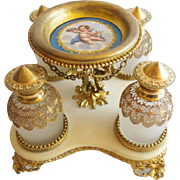 "Magnificent Palais Royal Scent Caddy ""FOUR GRANDEST BOTTLES"""