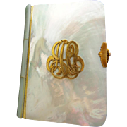 1899 Mother of Pearl Book The Little Key of Heaven Selection of Devotions Compiled from Approved Sources ~ With the Epistles and Gospels ~ B. R. Finney  720 Royal Street  New Orleans LA