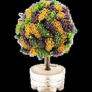 """One of the KIND""  1920 Czechoslovakian Grape Lamp …RAREST !"