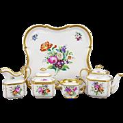 """Antique  Gotha Porcelain Tea Set  ~ FABULOUS SHAPE"""""""