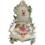 Charming Dornheim, Koch & Fischer, a Thuringia, Germany  Elfinware Armchair ~Wonderful Little Miniature Chair from My Treasure Vault