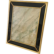 "Stunning Vintage Estate Frame  ~ Beautiful ~  Size 10"" x 12"" &  Ready for Your Photo ~ Table Top  or Wall  Frame in the Art Deco Style"