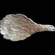 "Vintage Estate Silver Tea Caddy Spoon ""AWESOME BIRD"""