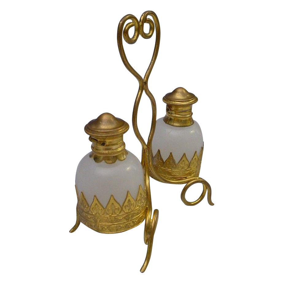Beautiful Antique French Scent Caddy