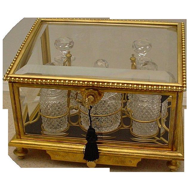"Grandest  Antique Baccarat Scent Casket ""LARGE"""