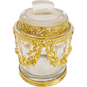 "Antique French Empire Style Jar ""AN ELEGANT ORNATE TREASURE'"