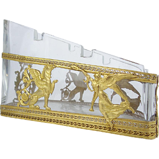 Antique French Empire Style Tidy Pen Holder