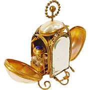 Napoleon III Mother of Pearl Scent Casket