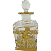 "Antique French Empire Perfume ""EXQUISITE"""
