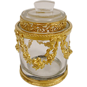 Stunning  Antique French Empire Jar