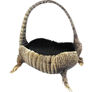Rare Footed Armadillo Basket