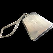 Antique Watrous Silver Co. Purse/Compact withMesh Chain