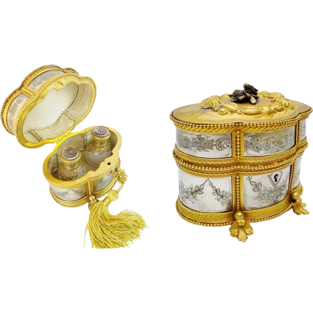 LAYAWAY Antique French Scent Casket 'FABULOUS ""