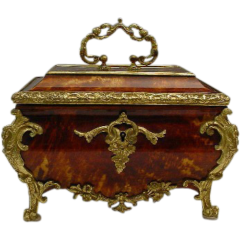 "Glorious Antique French  Casket ""A Masterpiece"" Circa 1860"
