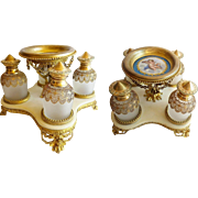 "Grandest Palais Royal Scent Caddy ""FOUR GLORIOUS  BOTTLES"