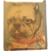 "Antique Wood Box ""DOG"" A Darling Old Wood Box"