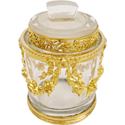 "Antique French Empire Style Jar ""AN ELEGANT TREASURE"""