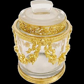 "Antique French Empire Style Jar ""AN ELEGANT TREASURE"""
