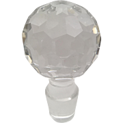 GIANT Cut Crystal Stopper     ~ Do You Need This?