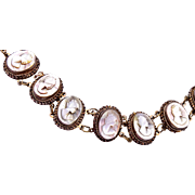 8 Mother of Pearl Cameo Bracelet GM