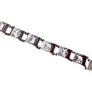 Siam Sterling Thai Dancer Neilo Bracelet