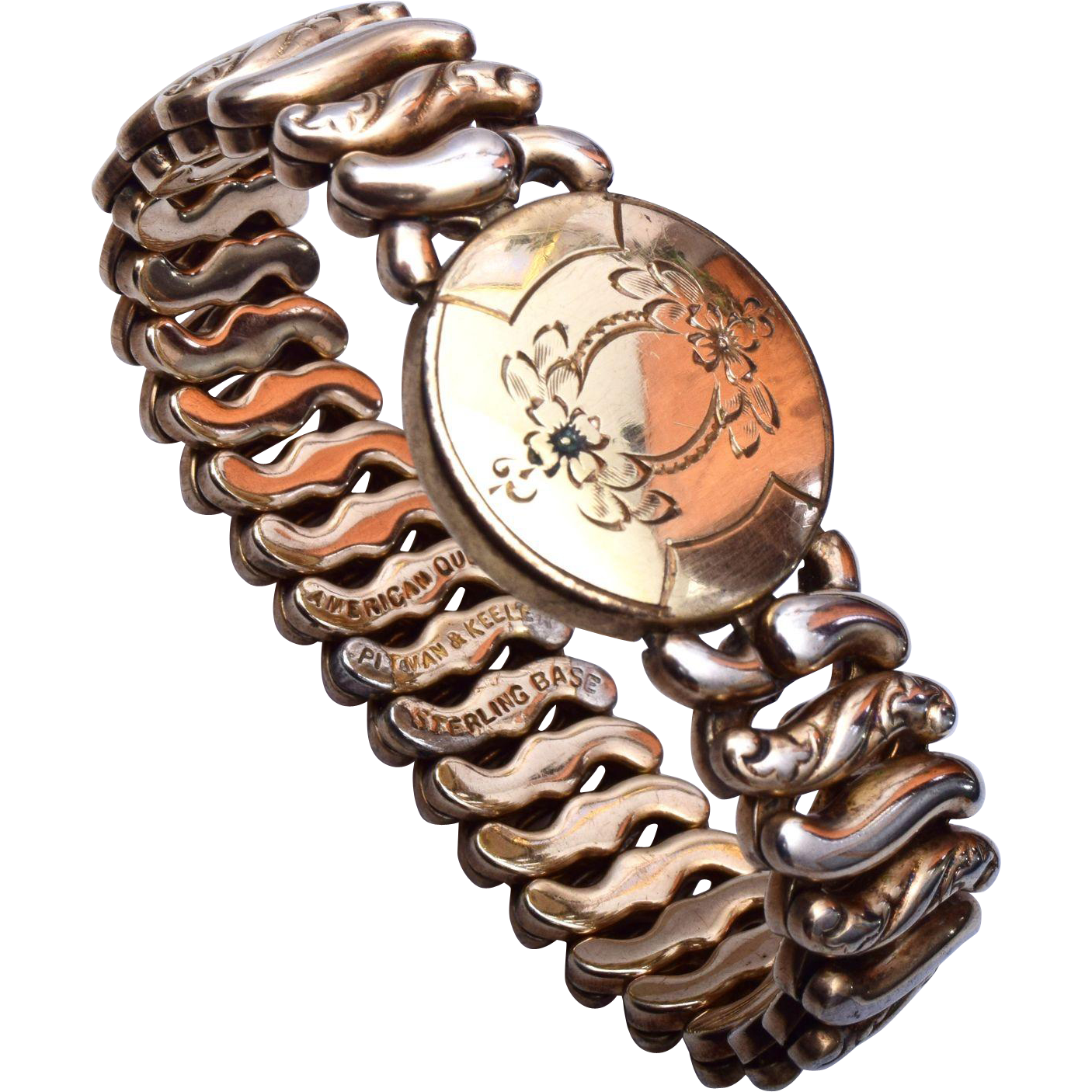 American Queen Sterling Base Expansion Bracelet