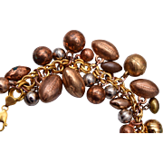 Sports Charm Bracelet - Old Charms