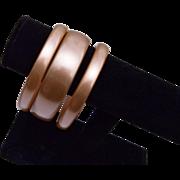 3 Moonglo Lucite Bangle Bracelets