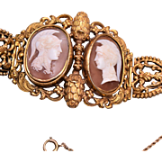 Double Cameo Fabulous Bracelet