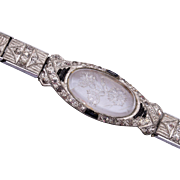 No-E-Line Bracelet With Crystal Flower Top