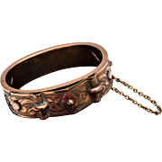 Bates and Bacon Hinged Gold Filled Bracelet